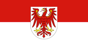 Flagge Land Brandenburg