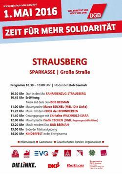 Maiplakat 2016 Strausberg