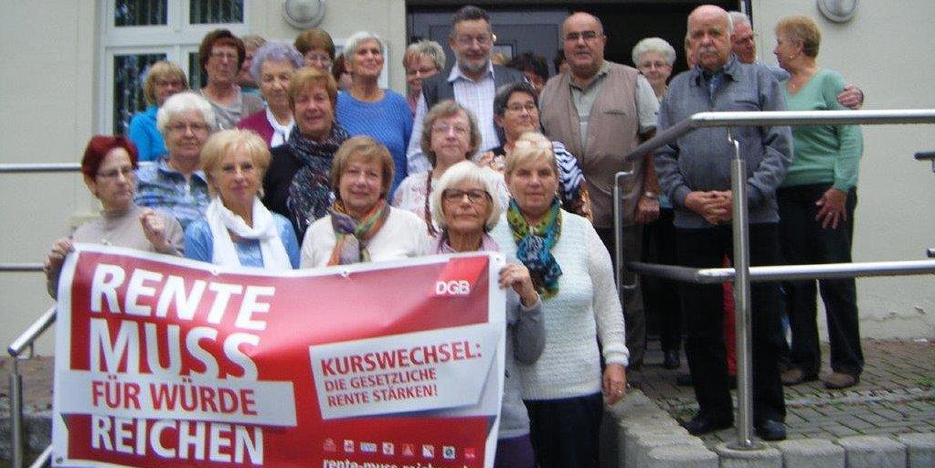 Veranstaltung zur Rentenkampagne mit Verdi SEnioren Bezirk Uckermark-Barnim