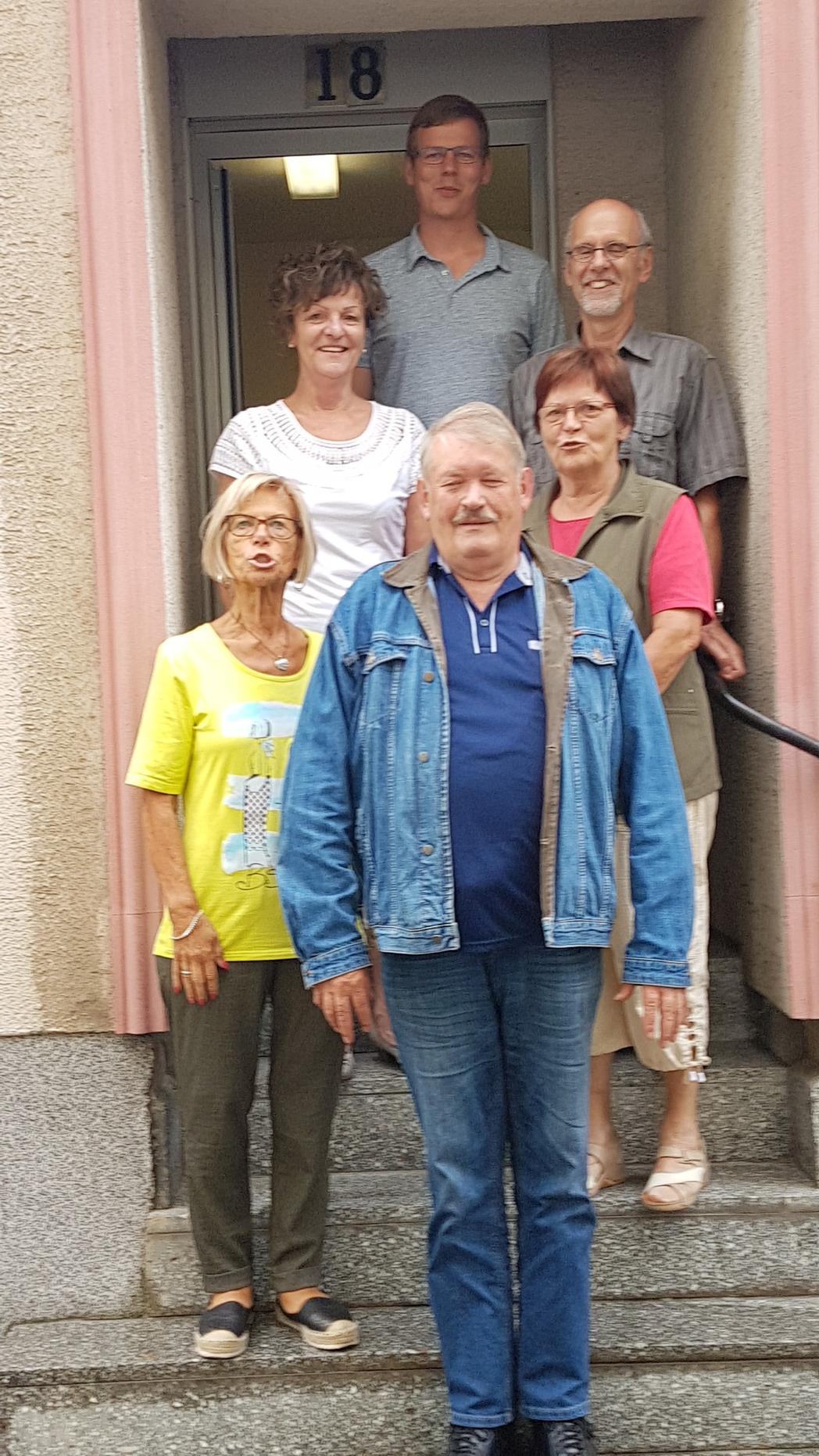 nach der Kreisverbands-Vorstandswahl DGB Uckermark 12.7.2017