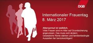 DGB Frauentag 2017 Wir verändern
