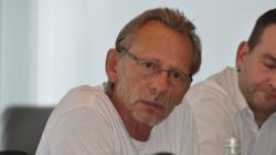 Bei PK auch IGM-Sekretär Sigfried Wied