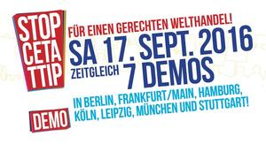 TTIP Stoppen Banner