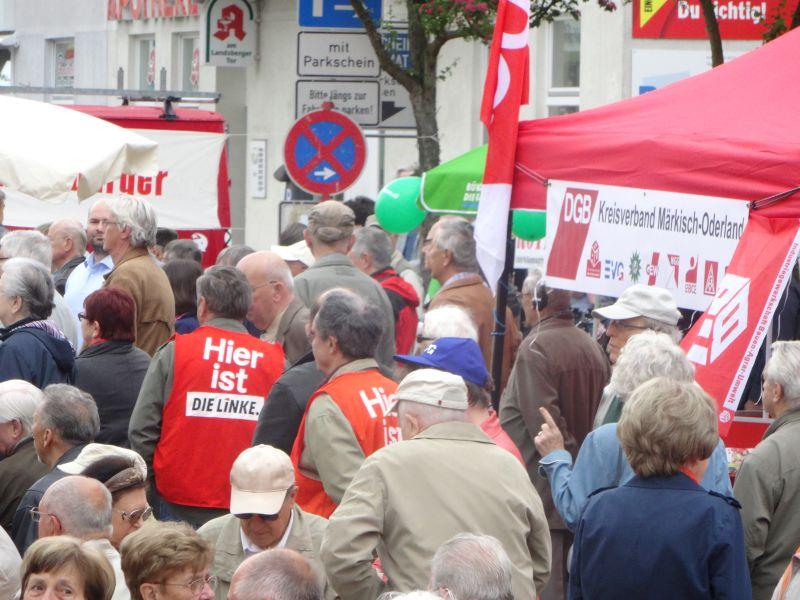 1.Mai in Strausberg