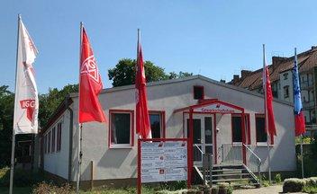 Ansicht des Gewerkschaftshauses Eberswalde