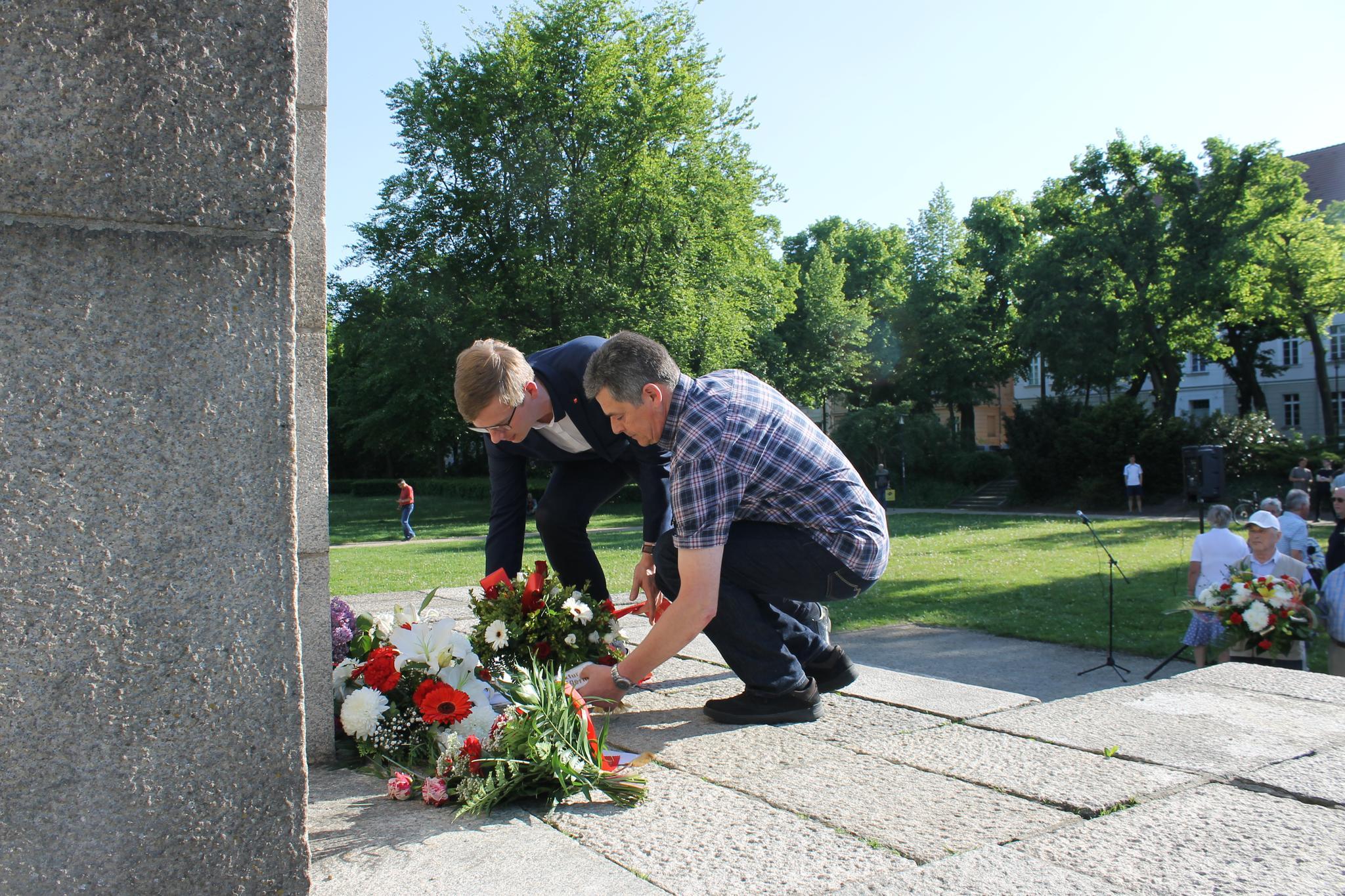 8. Mai Tag der Befreiung in Frankfurt (Oder)