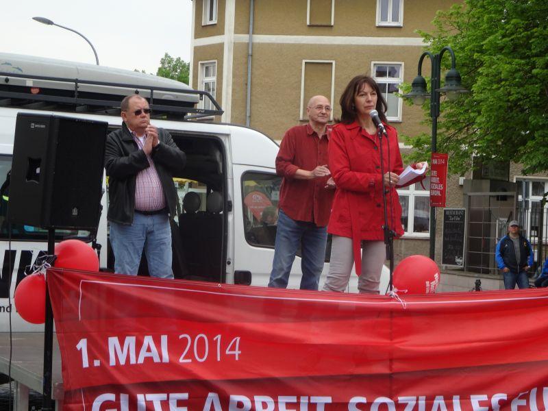 Redner in Strausberg