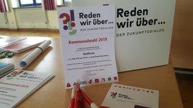 Wahlforum des DGB-Kreisverbands Märkisch-Oderland in Strausberg