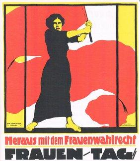 Plakat Intern. Frauentag
