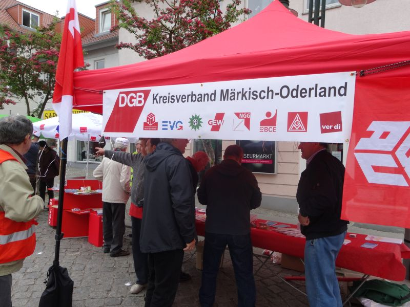 Strausberg DGB Stand