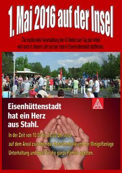 IG Metall Eisenhüttenstadt 1.Mai 2016