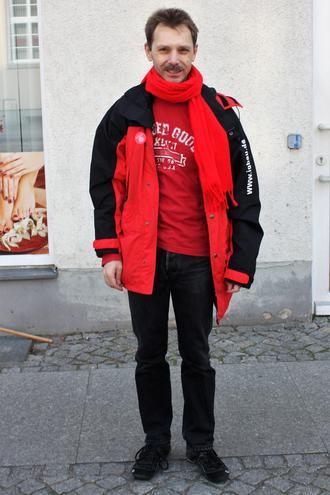DGB Kreisverbandsvorsitzender in Märkisch-Oderland,  Camillo Menzel