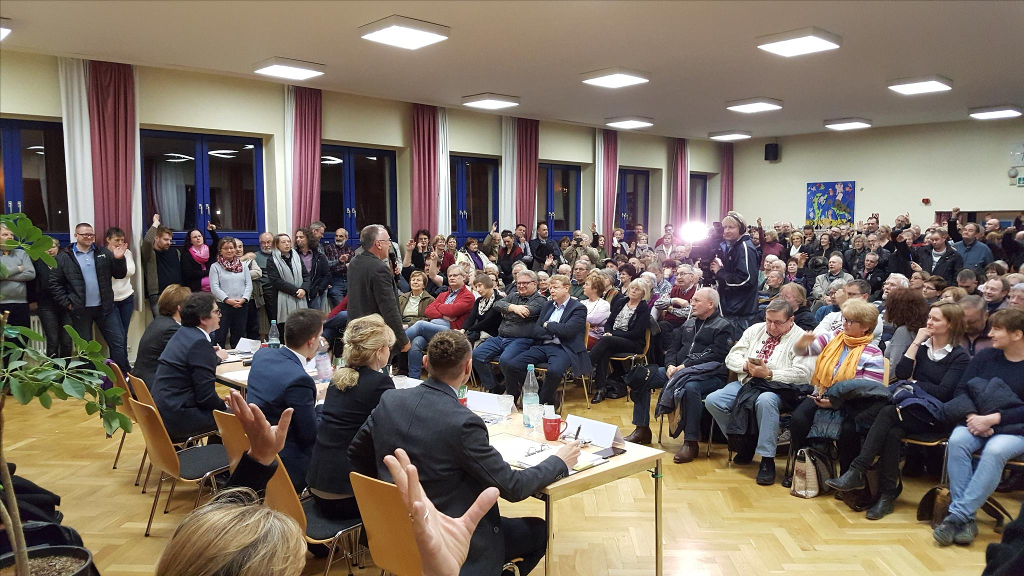 Wahlforum Strausberg DGB KV MOL 14.2. Publikum