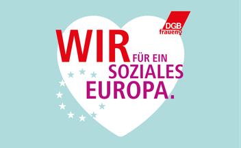 Wir für ein soziales Europa