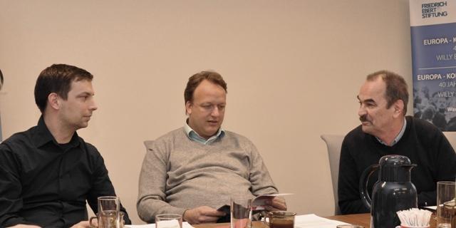 Gespräch DGB-FES in Warschau