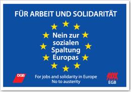 EGB-Aktionstag Plakat
