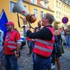 "Protest gegen Kundgebung der ""Alternative"" am 15.08.2017 in Eberswalde"