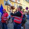 """Protest gegen Kundgebung der """"Alternative"""" am 15.08.2017 in Eberswalde"""