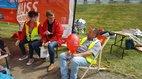DGB Ostbrandenburg und IGM-Stand Industriefest
